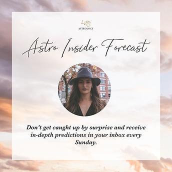 Astro Insider Forecast