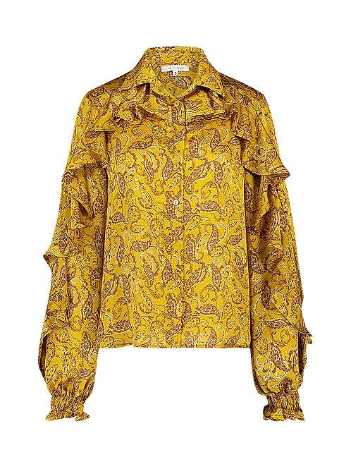Imani ruffle blouse