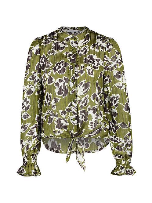 Noa blouse metallic flower