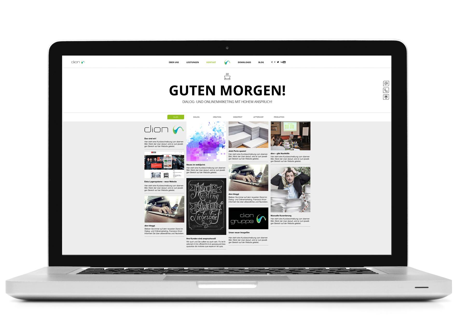 dion Website