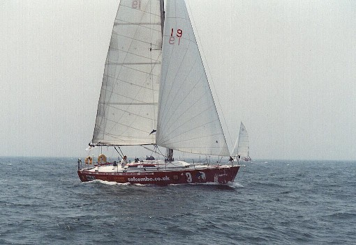 Ntombifuti preparing for OSTAR 2000