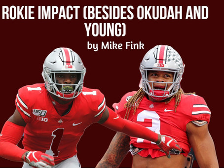 Rookie Impact (besides Okudah & Young)