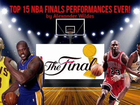 Top 15 NBA Finals Performances