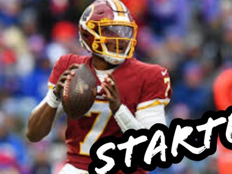 Haskins named starter