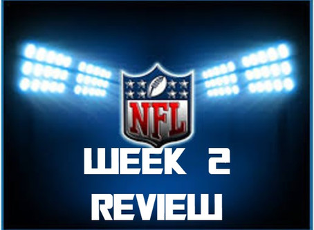NFL Weeks Review
