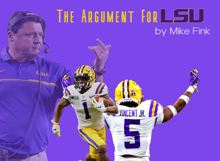 The Argument For LSU