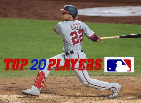 Top 10 MLB Players 2020
