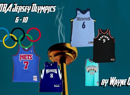 NBA Jersey Olympics 6-10