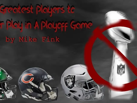 Greatest Players To Never Play An NFL Playoff Game