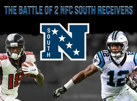 The Battle of 2 NFC South Receivers