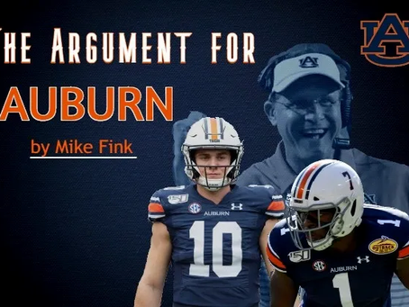 The Argument For Auburn