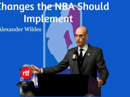 3 NBA Changes
