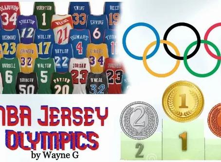 NBA Jersey Olympics