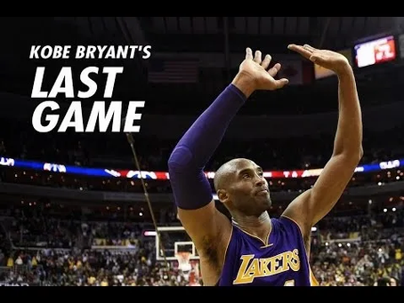 Kobe's Last Dance