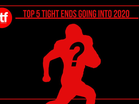 Top 5 Tight Ends in The NFL 2020