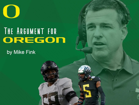 The Argument for Oregon to win the National Championship