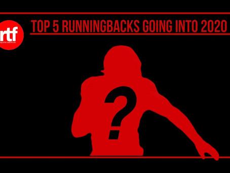 Top 5 RBs Heading Into 2020
