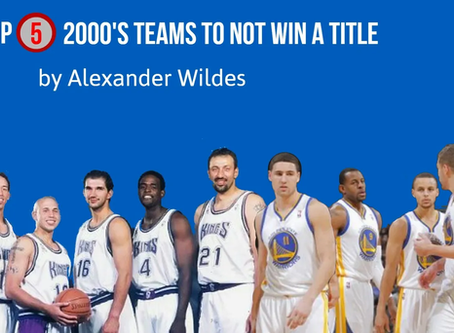 Top Teams of 2000's NOT to Win A Title