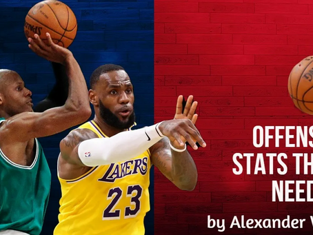 Offensive Stats The NBA Needs