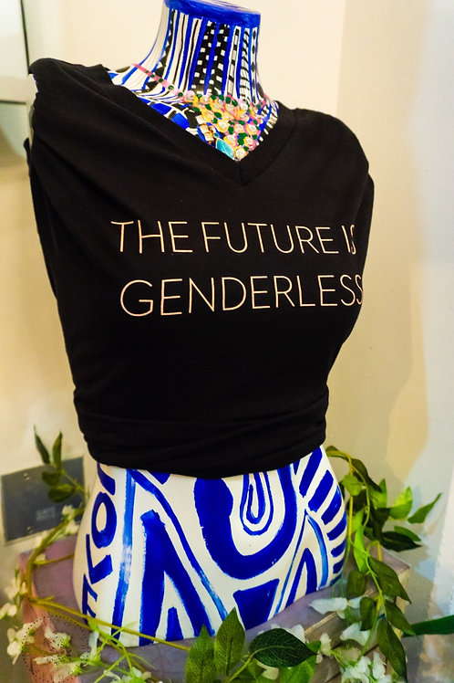 """Future Is Genderless"" V-Neck"