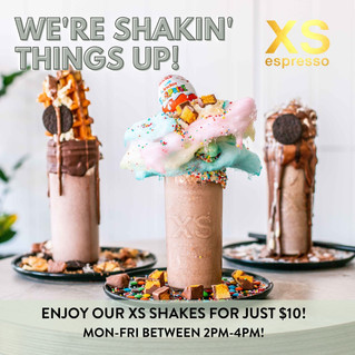 Need an excuse to try our newly opened XS Expresso?
