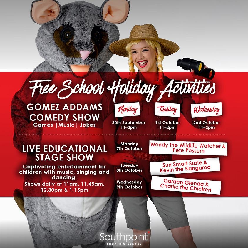October Free School Holiday Activities
