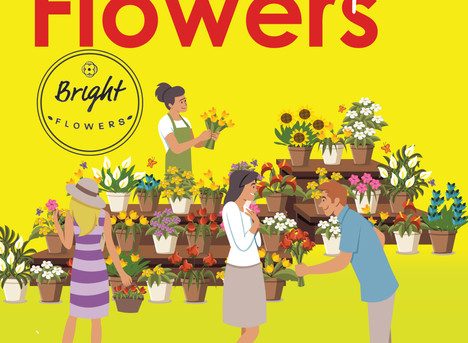 Bright Flowers is now Open!
