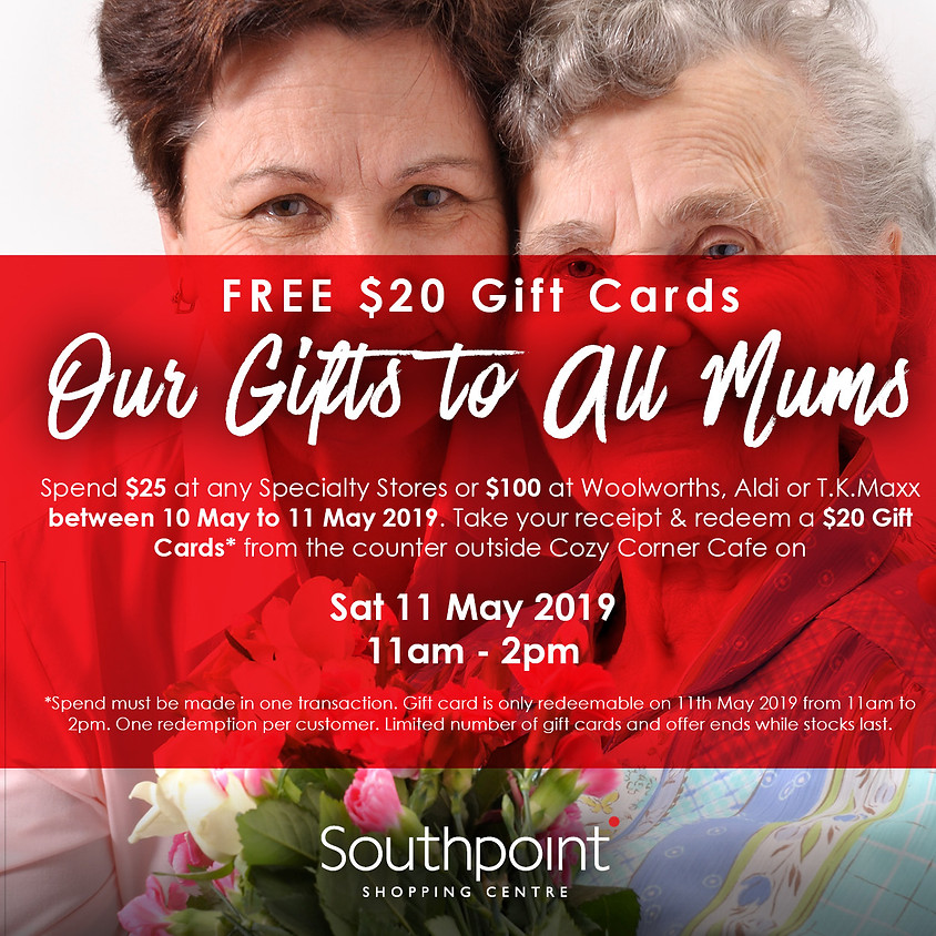 Our Gifts to all mums
