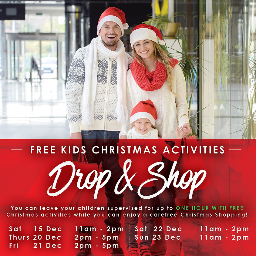 Free Kids Christmas Activities - Drop & Shop