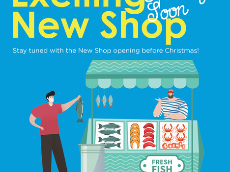 New Shop Opening Soon Before Christmas!
