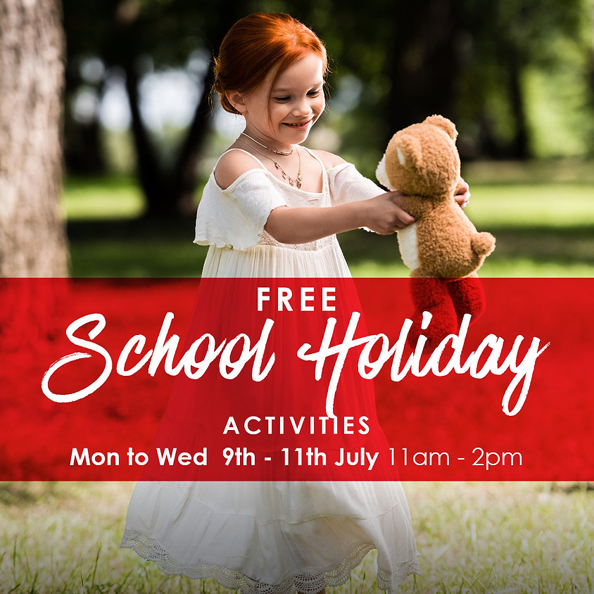 Build-A Bear Workshop - Free School Holiday Activities