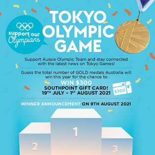 Tokyo Olympic Game! Support our Olympians!