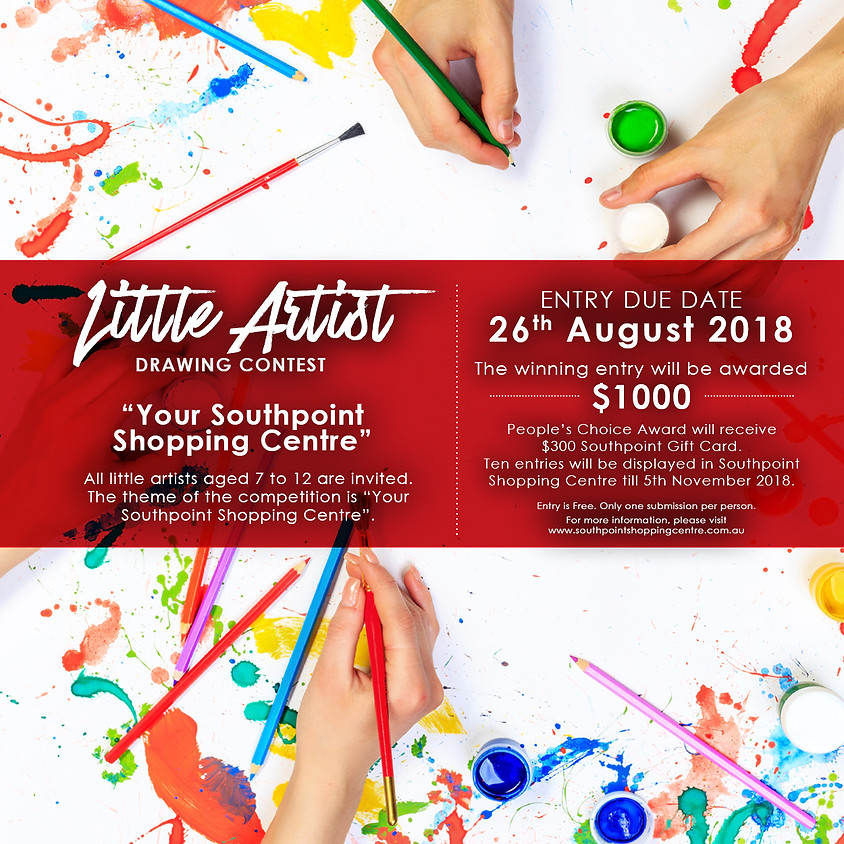 Little Artist Drawing Contest