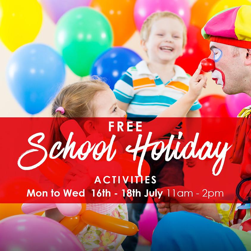 Balloon Zoo - Free School Holiday Activities