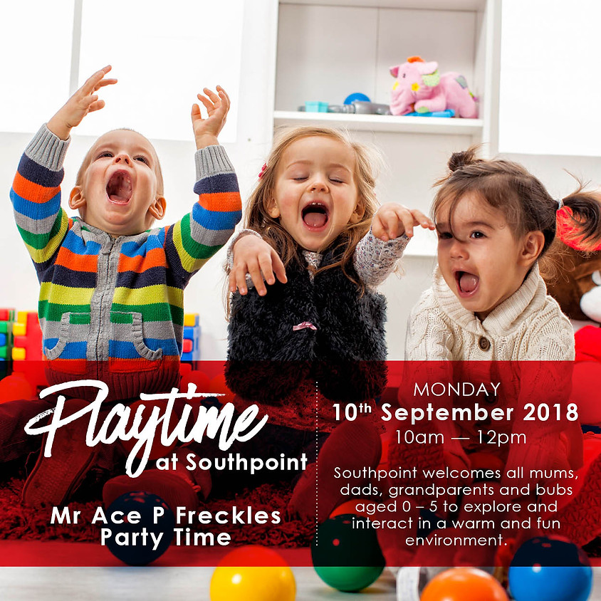 Mr Freckle Winter Show at Playtime Southpoint Shopping Centre!