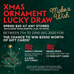 Xmas Ornament Lucky Draw