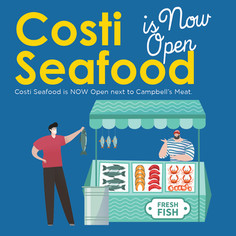 Costi's Seafood is NOW open! Check out for their Australia Day Special!