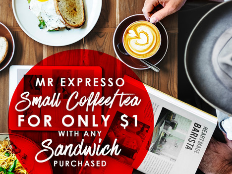 Mr Expresso April Special