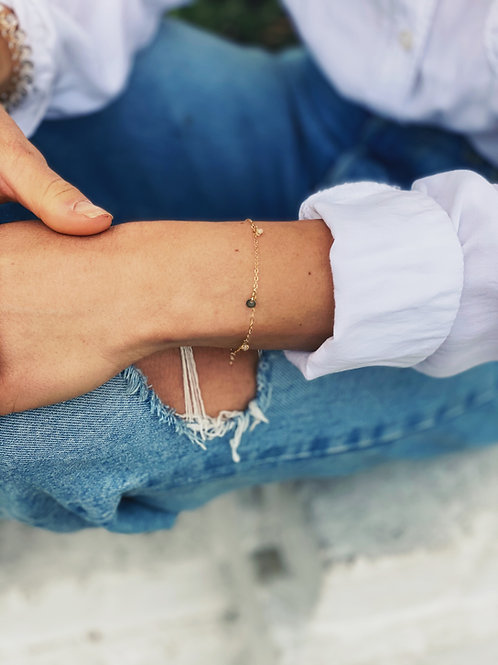 Fortune Favors Her bracelet
