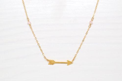 RECEIVE Arrow Necklace