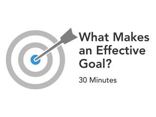 Set Effective Targets