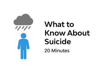 Evidence-based Advice on Suicide Risk