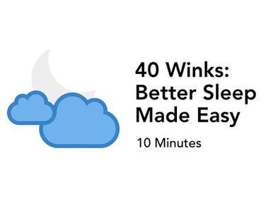 Learn Good Sleep Hygiene