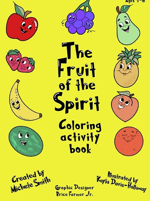 Fruit of the Spirit coloring/activity book