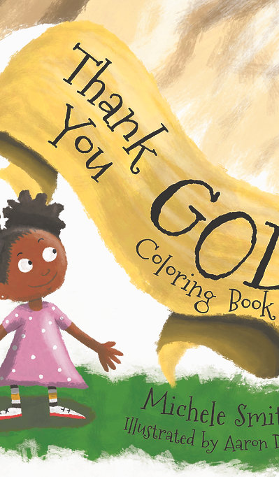 Thank You God: Coloring Book
