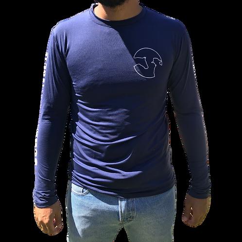 Camisa UV Azul