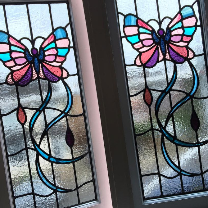 Butterfly Remembrance Windows…