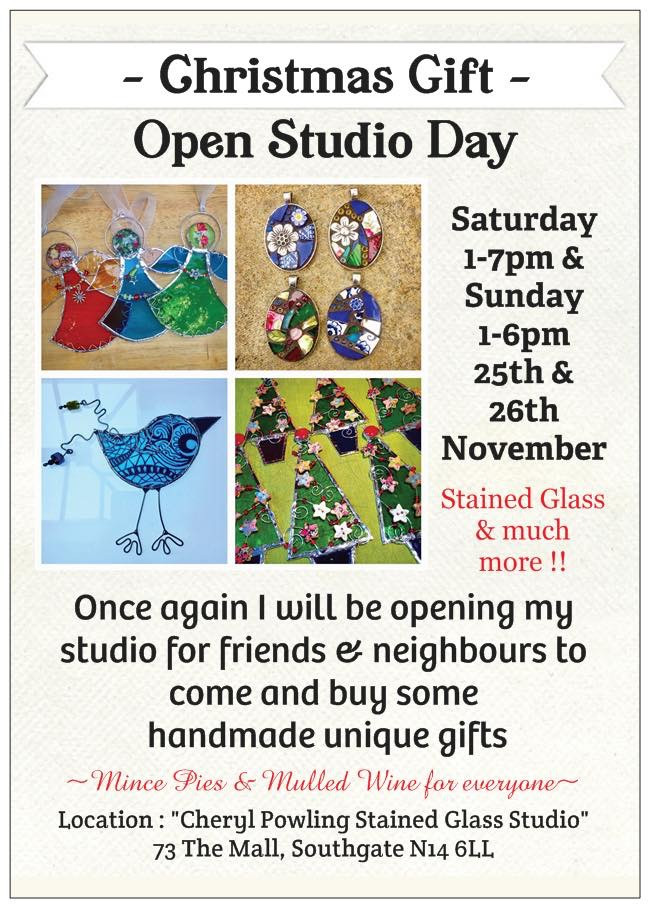 CHRISTMAS OPEN STUDIO WEEKEND