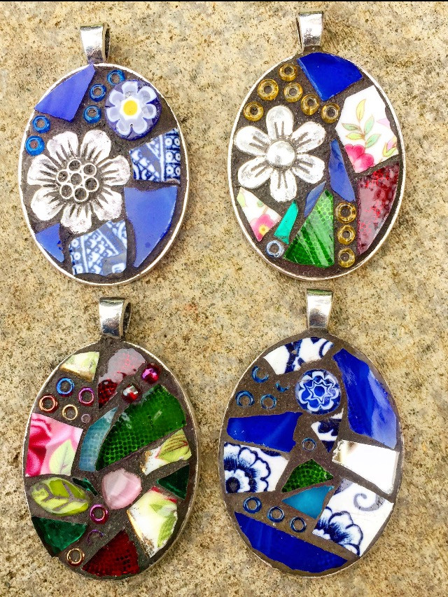 Mosaic Your Own Pendant - New for 2018