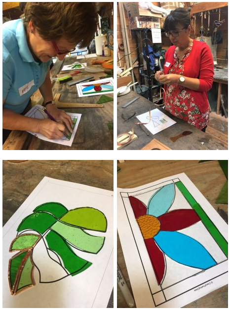 Weekday Foiling Stained Glass Class